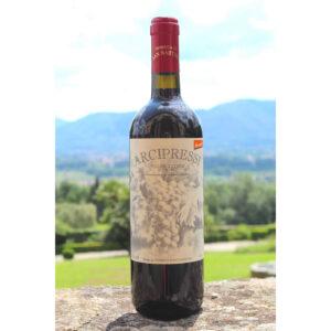 vino rosso bio dinamico arcipressi doc 2018